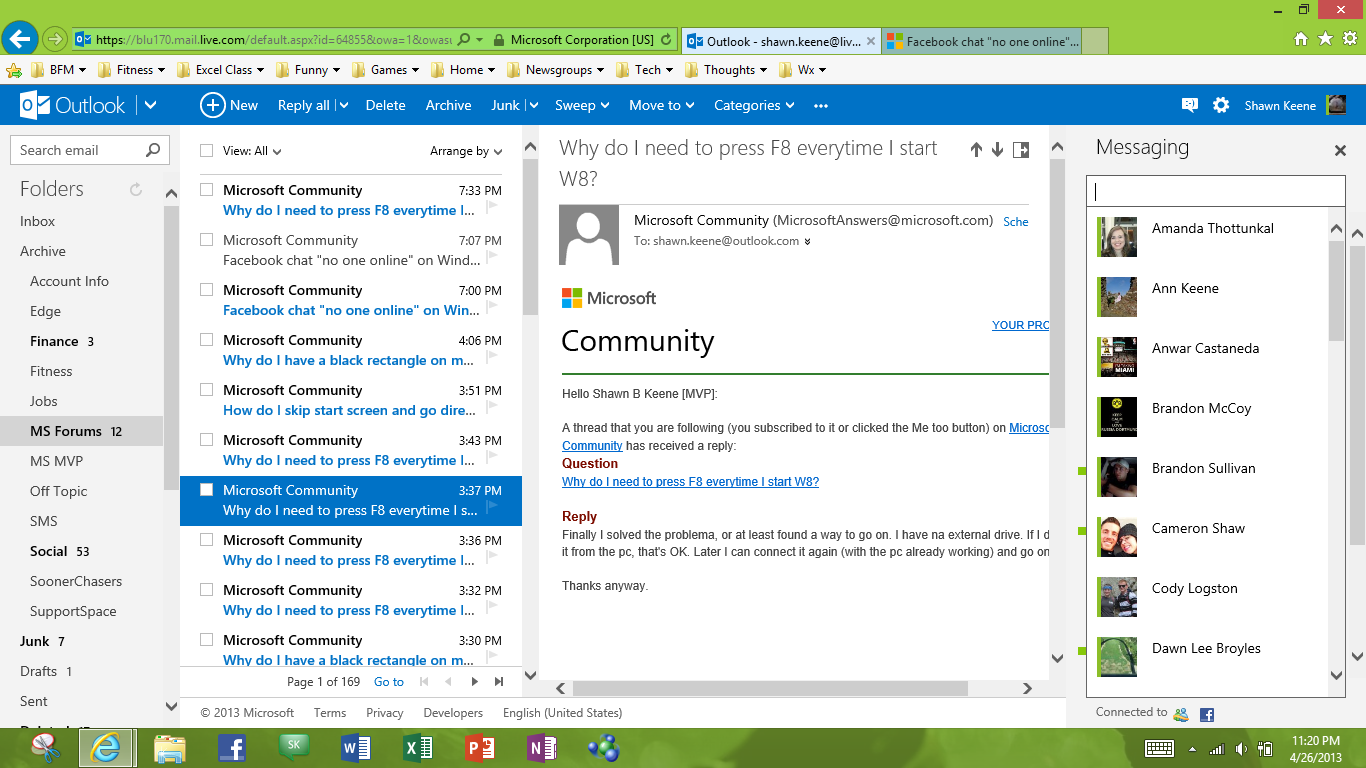 outlook chatrooms Object moved this document may be found here.