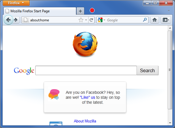 firefox how to go back one version