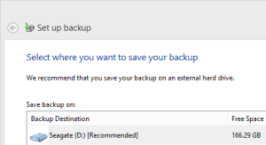 In the old days, you would schedule a weekly backup of your files to another drive. This was worthless for natural disasters but helped if one disk failed.