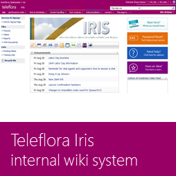 Teleflora Internal Reference Information System (IRIS)